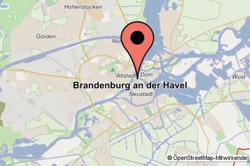 stadt brandenburg karte Stadt Brandenburg: Stadtplan
