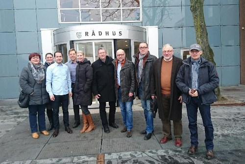 Brandenburger Delegation in Ballerup
