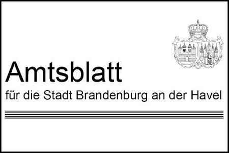 Stadt Brandenburg: Amtsblatt Nr. 17/2018 erschienen